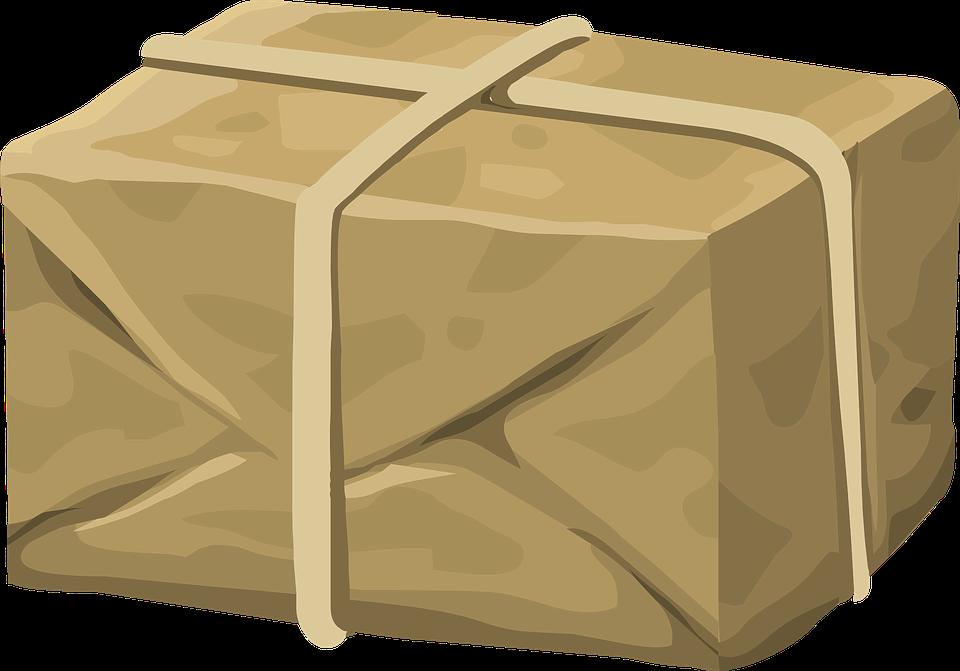 kreslený balík