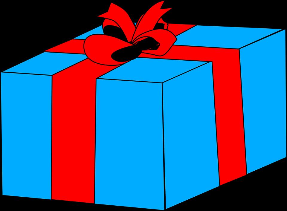 modrý balík