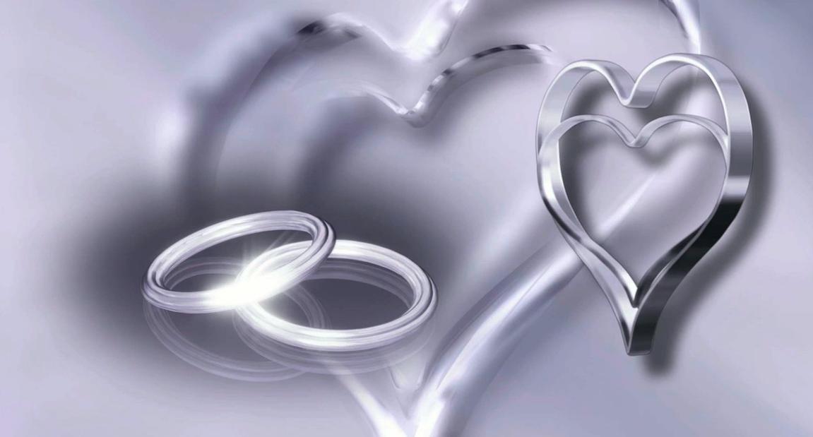srdce svatba